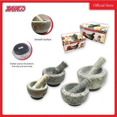 (RU17.5) RU Series - Fine Mortar & Pestle with Pad