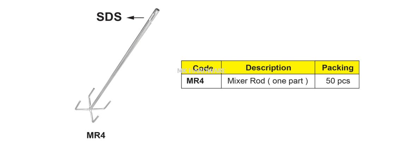 MIXER ROD (SDS TYPE)