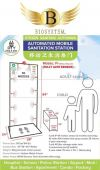 Automated Mobile Disinfection Station - Shop/Office use (F1)) Health Care