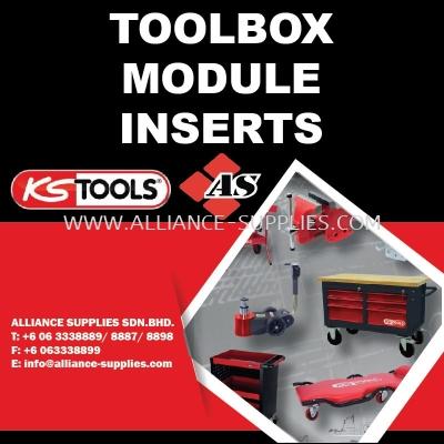 KS TOOLS Toolbox Module Inserts