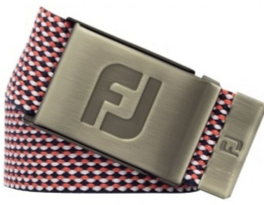 FJ Red Black Webbing Belt