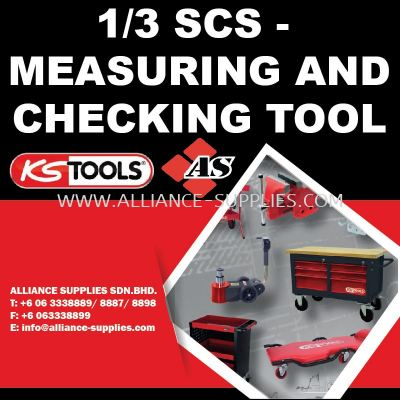 KS TOOLS 1/3 SCS - Measuring and Checking Tool