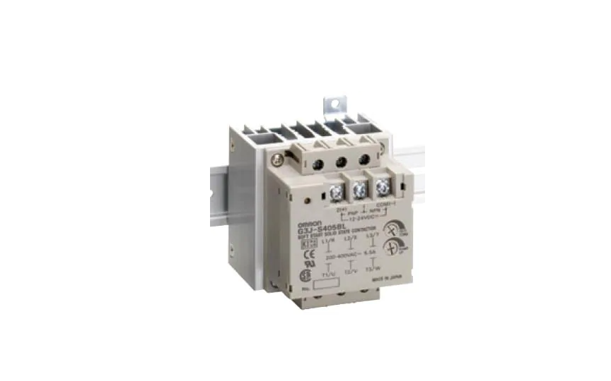 Omron G3J Solid-State Relay for three-phase motors