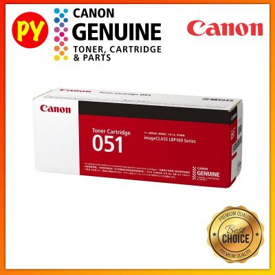 Canon Cartridge 051 Black Original Laser Toner  For imageCLASS LBP162dw MF266dn MF269dw
