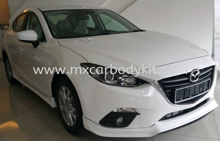 MAZDA 3 SEDAN 2015 RS DESIGN BODY KIT + SPOILER  3 SEDAN 2015 MAZDA