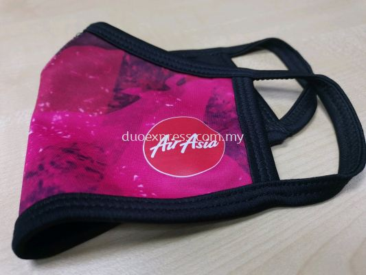 Fabric Face Mask with print logo