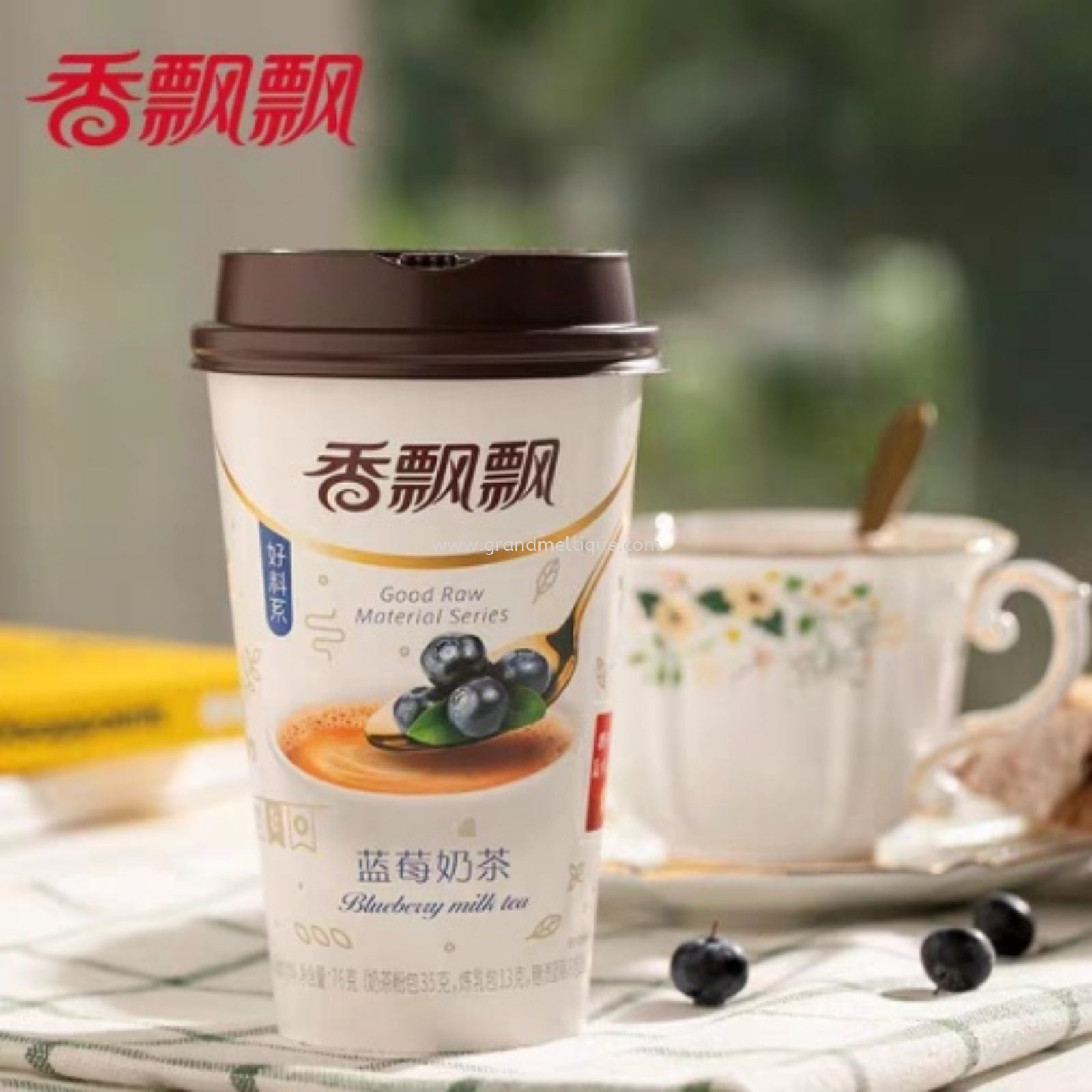 XPP BLUEBERRY MILK TEA 香飘飘蓝莓奶茶