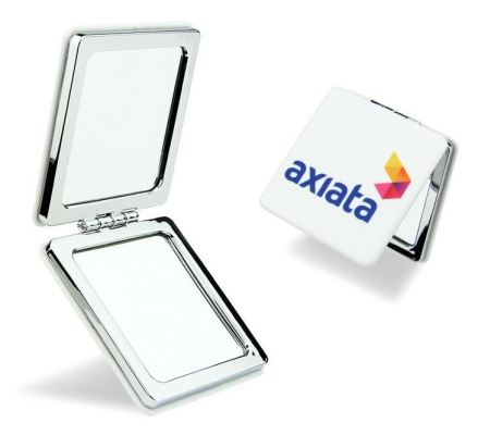 Compact 2 Sided Mirror