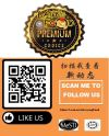 We Are On Available on Facebook. Scan Me To Follow Us