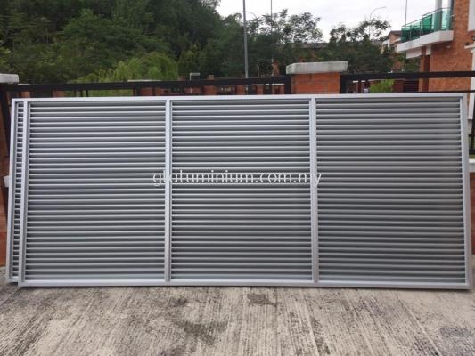 louvres aluminium