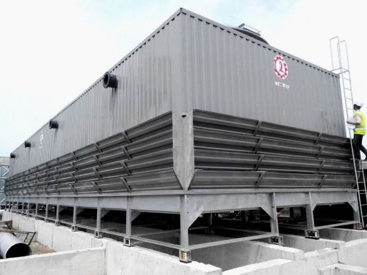 Liang Chi Cooling Tower -Square Type - Counter Flow -Compact Type LDC-M