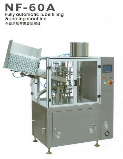 NF-60A Automatic Plastic / Laminated Tube Filling & Sealing Machine