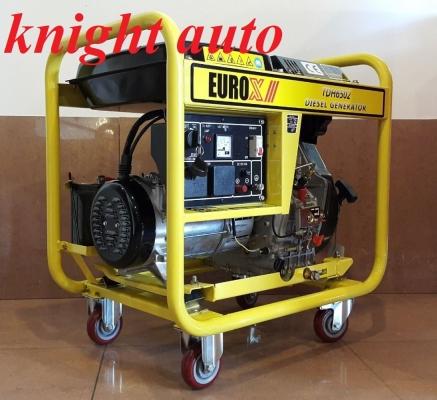 EuroX Europower TDH6502 Diesel Generator 4500W ID009470