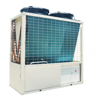 Hitachi Air-Cooled Modular Chiller -Inverter Scroll Compressor R410A , RCUA-AVMY  Series