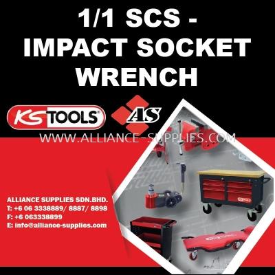 KS TOOLS 1/1 SCS - Impact Socket Wrench