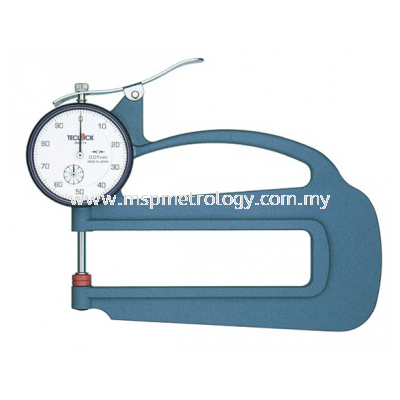 Teclock Dial Thickness Gauge,10mm/0.01 �C SM-114 (Insertion Depth 120mm)