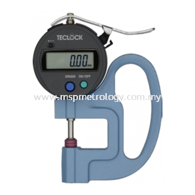 Teclock Digital Thickness Gauge,12mm/0.01 �C SMD-540S2