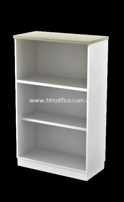 SL55B-YO13-Open Shelf Medium Height Cabinet