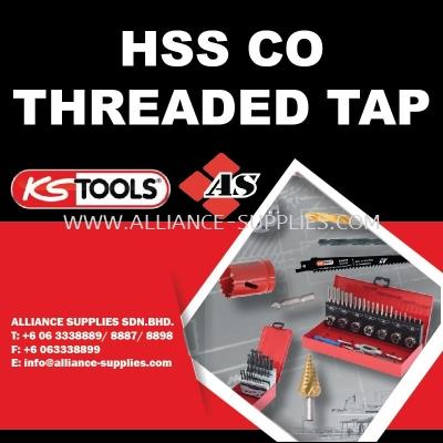 KS TOOLS HSS CO Threaded Tap