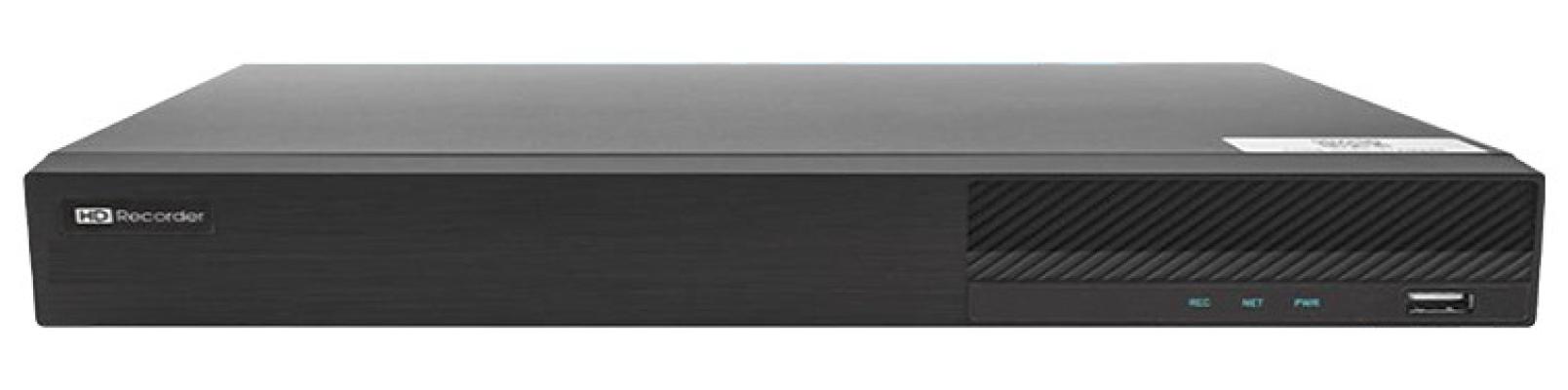 5 in 1 (AHD, CVI, TVI, 960H, IP) 16CH H.265 Pentaplex 8MP Recording DVR (AHD5216F)