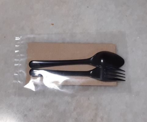 3 IN 1 FORK,SPOON & TISSUE(2,000 packs)
