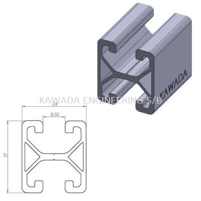 Aluminium Profile 24 X 27