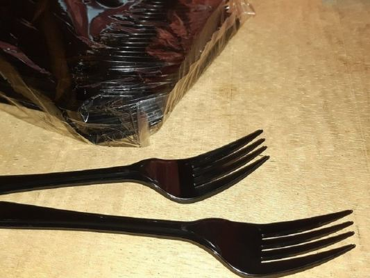 "PS-180/7"" BLACK FORK ONLY (2,000 PCS)"