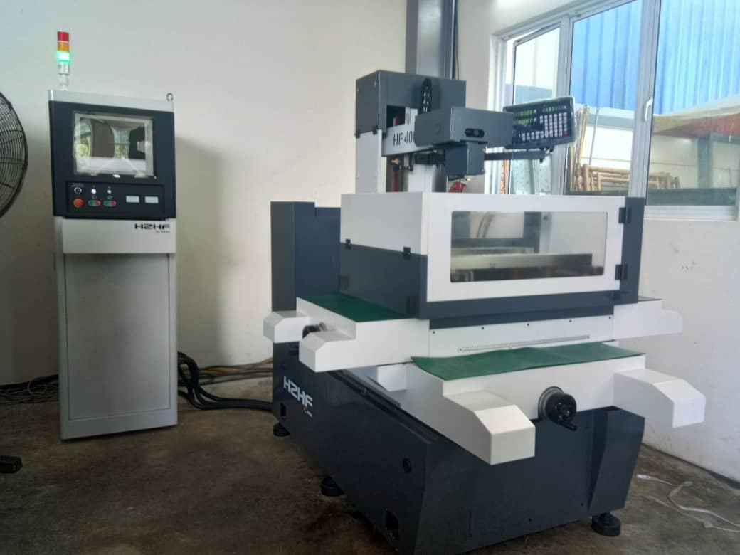 New HZHF HF320MZQ CNC Molybdenum Wire cut machine delivered to precision part maker at Semenyih