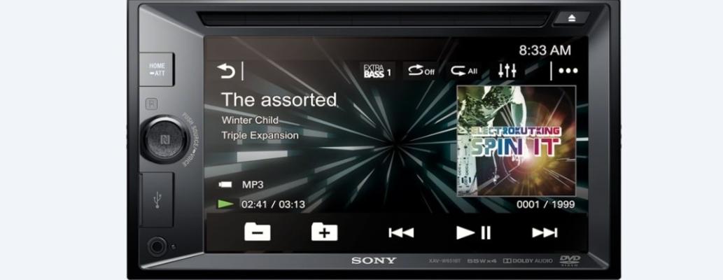 HAV -W651BT SONY DVD CAR PLAYER