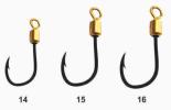683 LIVE BAIT 360° DIMENSION MULTIPURPOSE ROTATING  HOOK (STAINLESS STEEL) Hook Fishing Hook