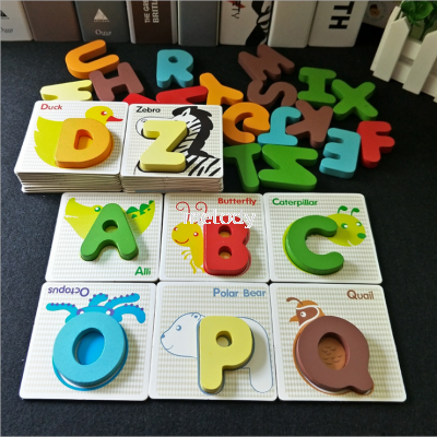 Baby Child Early Learning Recognize Puzzle ABCD