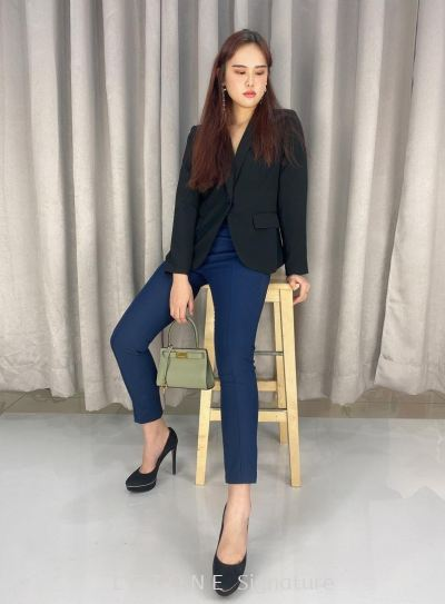 29956  Basic Tailored Women Blazer