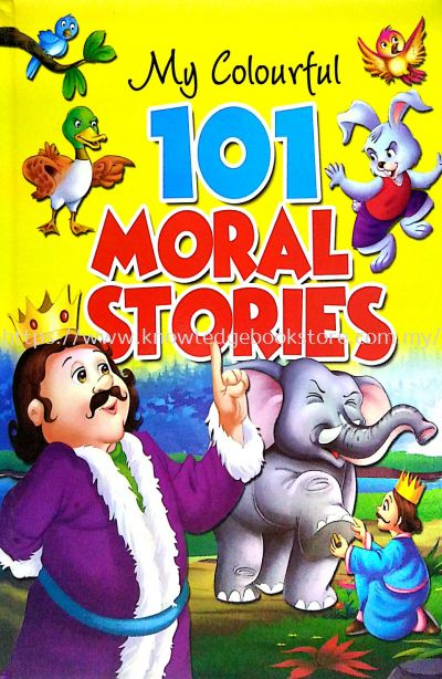 MY COLOURFUL 101 MORAL STORIES (BIG BOOK)