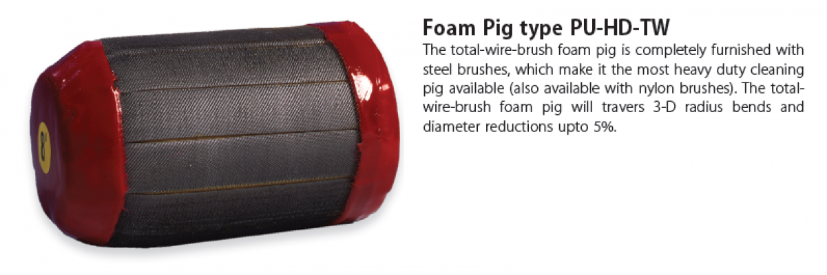 Foam Pig Type PU-HD-TW