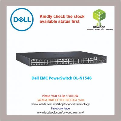 DELL EMC PowerSwitch N1548 48G c/w 4 10GbE SFP+ Switch