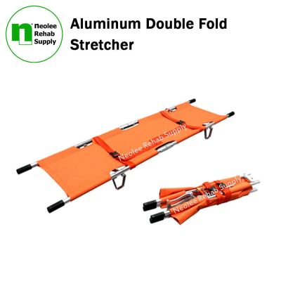 NL101L Double Fold Aluminum Stretcher