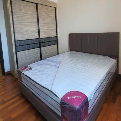 Tamarind full height wardrobe installation Bedframe and mattress