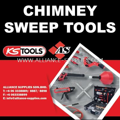 KS TOOLS Chimney Sweep Tools