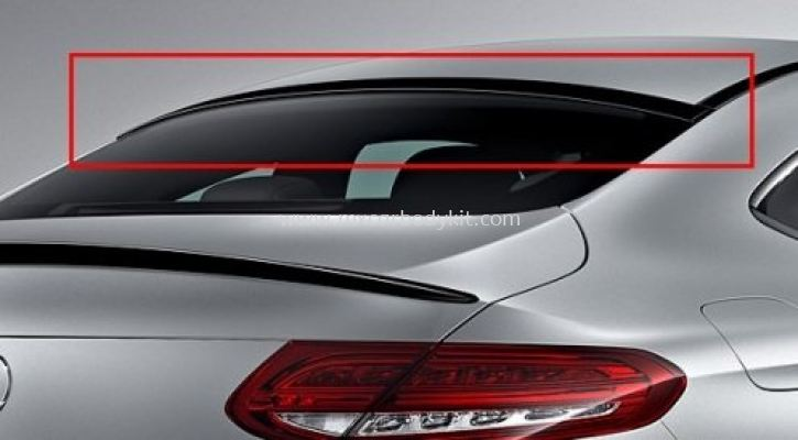 MERCEDES BENZ C-CLASS W205 COUPE ROOF SPOILER