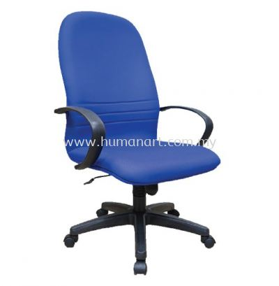 HYDE STANDARD HIGH BACK FABRIC CHAIR WITH POLYPROPYLENE BASE HS1