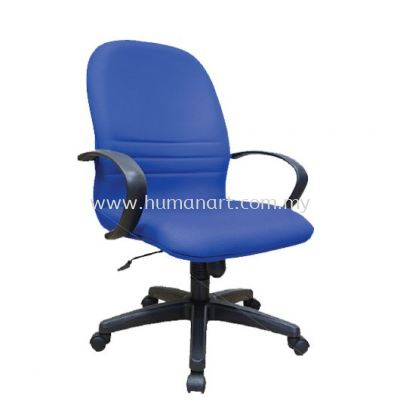 HYDE STANDARD MEDIUM BACK CHAIR WITH POLYPROPYLENE BASE HS2