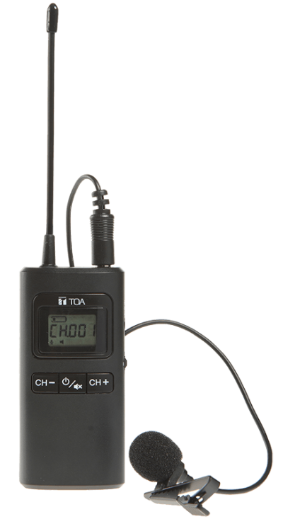 WG-D100T. TOA Digital Wireless Guide Receiver. #AIASIA Connect