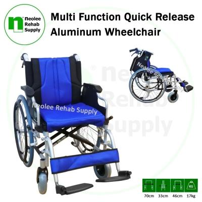 NL953LQJ-46 Multi-Function (Quick Release) Lightweight Wheelchair