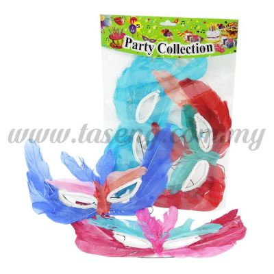 Feather Mask 2pcs (MK-FT2)
