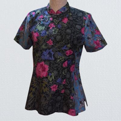 BTK(T)007 Batik Qipao Top