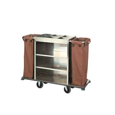 RYCAL STAINLESS STEEL MAID TROLLEY (BIG)