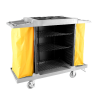 RYCAL MAID TROLLEY RYCAL STAINLESS STEEL HOUSE KEEPING EQUIPMENT