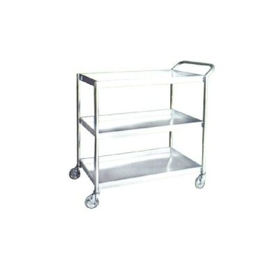 RYCAL STAINLESS STEEL 3 TIERS TROLLEY (3TT-1102/SS)