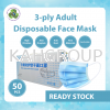3-ply Adult Face Mask Hand Sanitizer & Mask