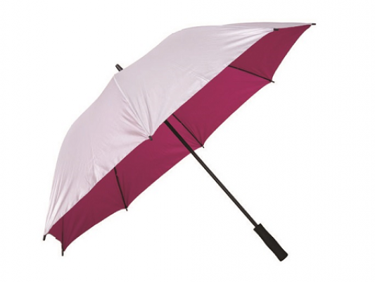 "U7028 - 30"" Silver Coated Umbrella"